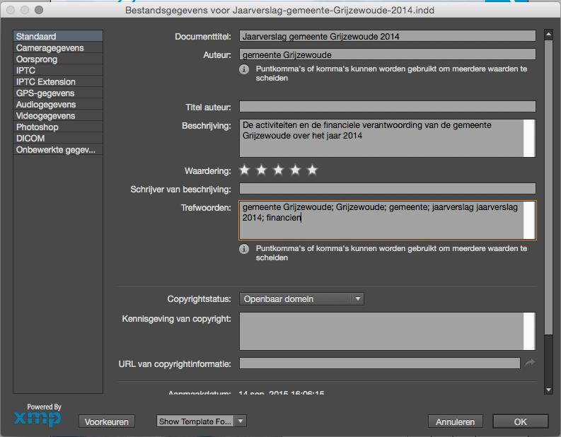 Screenshot Metadata
