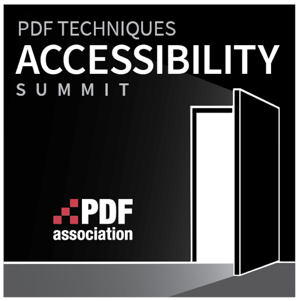 Logo PDF Techniques Accessibility Summit