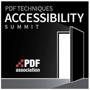 Logo PDF Techniques Accessibility Summit